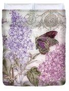 Victorian Romance II Duvet Cover