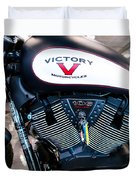 Victory Bike Red Duvet Cover