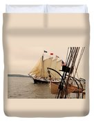 Victory Chimes Along Side Duvet Cover