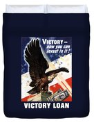 Victory Loan Bald Eagle Duvet Cover
