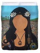 Vidas Pasadas, Woodstock 1969 Duvet Cover
