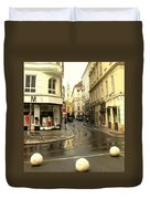 Vienna Corner After The Rain Duvet Cover