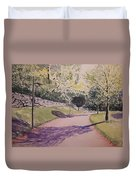Vienna In Summer Duvet Cover
