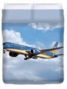 Vietnam Airlines Boeing 787 Dreamliner Duvet Cover