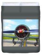 Vietnam Plane Duvet Cover