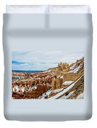 View Along The Ridge Duvet Cover