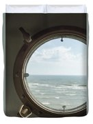 View At Sea II Duvet Cover