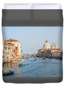 View From Accademia Bridge Duvet Cover