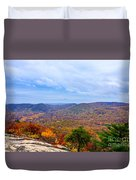View From Bear Mountain Duvet Cover
