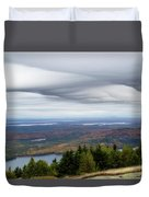 View From Cadillac Mountain Duvet Cover