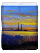 View From Clontarf - Dublin Duvet Cover