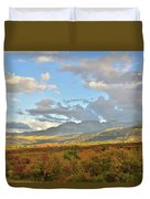 View From Dallas Divide Duvet Cover