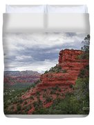 View From Doe Mountain Trail Duvet Cover