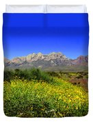 View From Dripping Springs Rd Duvet Cover