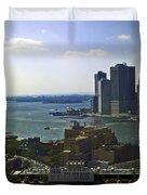 View From Dumbo Duvet Cover