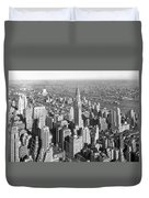 View From Empire State Bldg. Duvet Cover