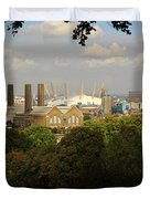 View From Greenwich Park Duvet Cover