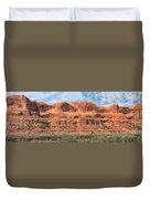View From Highway 128, Utah Duvet Cover
