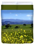 View From Highway 154 Duvet Cover