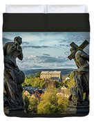 View From Kuks Hospital - Czechia Duvet Cover
