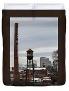 View From Libby Hill Duvet Cover