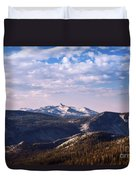 View From May Lake Duvet Cover