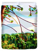 View From Mazengah - Crop Duvet Cover
