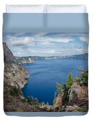 View From Merriam Point Duvet Cover