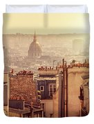 View From Montmartre Duvet Cover