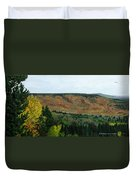 View From Shinning Bank  Duvet Cover