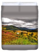 View From The River Dee Duvet Cover