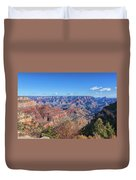View From The South Rim Duvet Cover