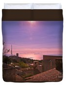 View From The Top In Sicily 2 Duvet Cover