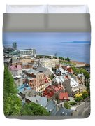 View From The Wall Duvet Cover