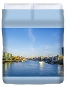 View From Tower Bridge Duvet Cover