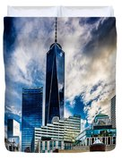 View From Tribeca Duvet Cover