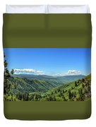 View From White Bird Hill Duvet Cover
