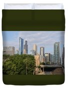 View Of A City Duvet Cover