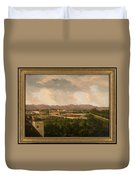 View Of A Mine In Mineral Del Pozos Duvet Cover