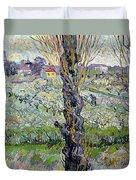 View Of Arles Duvet Cover