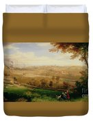 View Of Bradford Duvet Cover