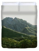 View Of Bridge And The Town Of Cava, Kingdom Of Naples Duvet Cover