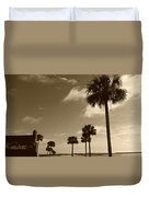 View Of Castillo De San Marcos Duvet Cover