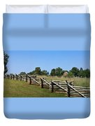 View Of Clover Hill Tavern Appomattox Court House Virginia Duvet Cover