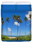 View Of Fiji Duvet Cover