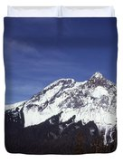 View Of Garibaldi Mountain Duvet Cover