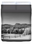 View Of Lake Willoughby Duvet Cover