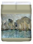 View Of Le Havre Duvet Cover