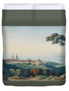 View Of Lucerne Duvet Cover
