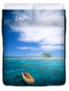 View Of Micronesia Duvet Cover